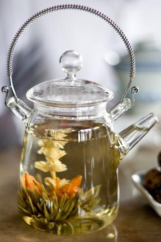 Как заваривать белый чай цветок