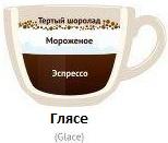 Из чего состоит кофе гляссе